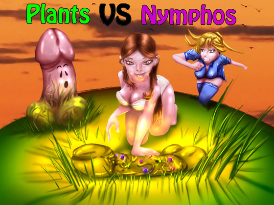 Plants vs Nymphos-для андроид