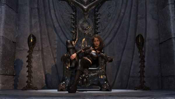 Yharnam's Throne