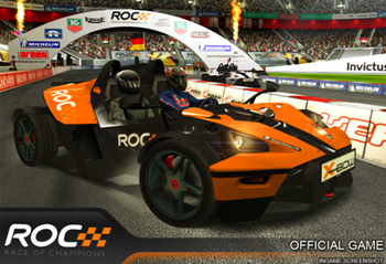 Анонс Race of Champions для андроид